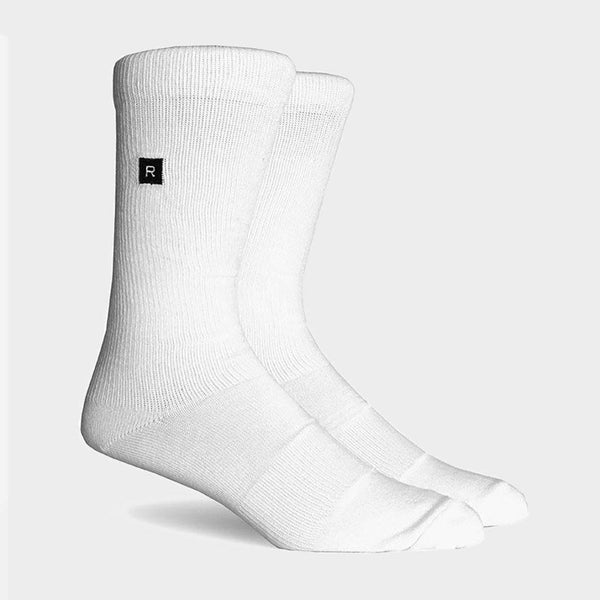 product: Richer Poorer Base Crew Sock White