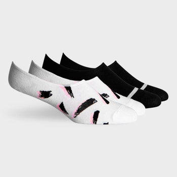 product: Richer Poorer Chad No Show Sock Black/ Ivory
