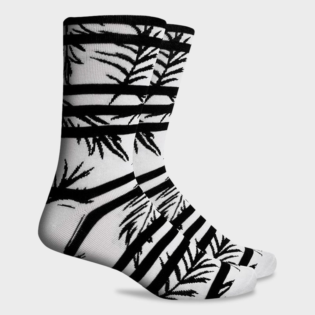 Richer Poorer Cruise Midweight Sock White
