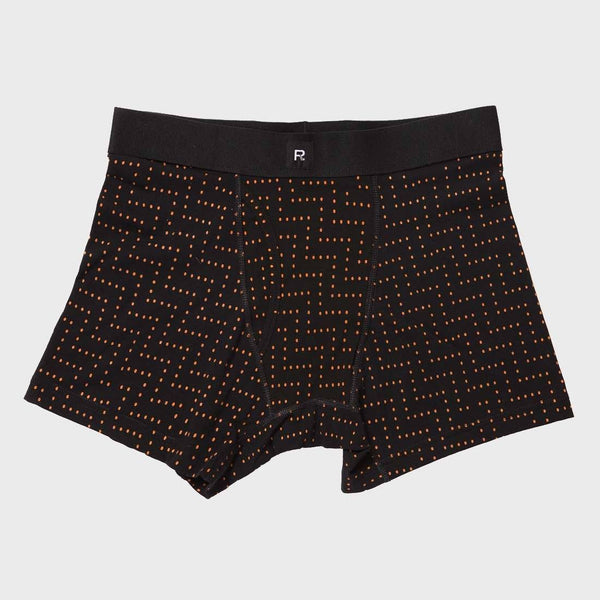 product: Richer Poorer Leonard Casual Boxer Brief Black