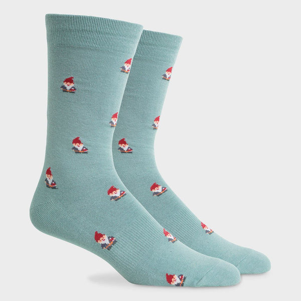 product: Richer Poorer Lightweight Crew Sock Buddy Sage