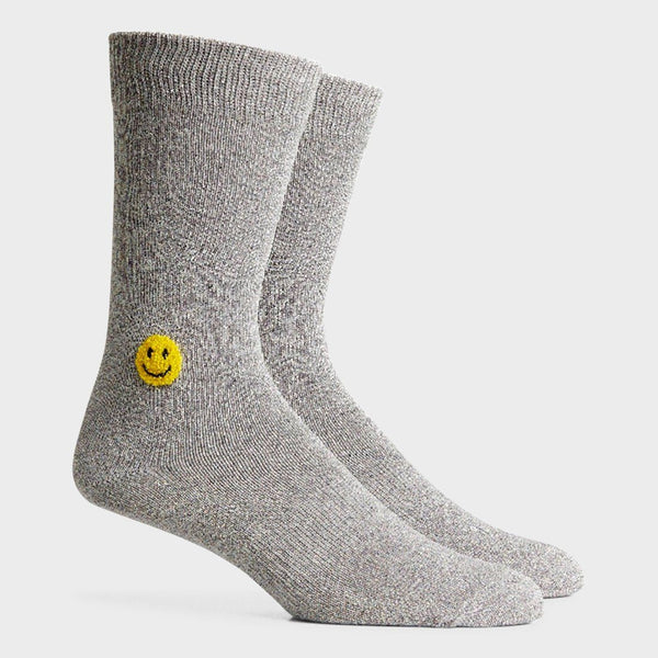product: Richer Poorer Lucky Crew Sock Heather Grey