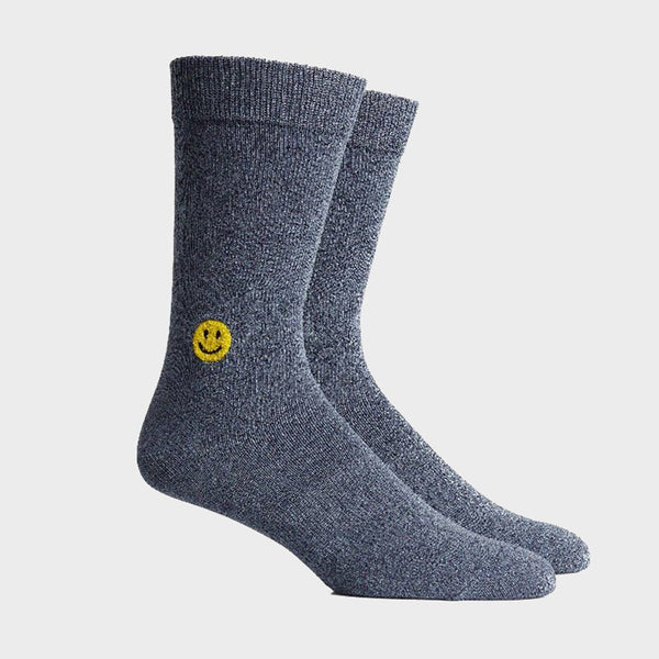 product: Richer Poorer Lucky Crew Sock Indigo