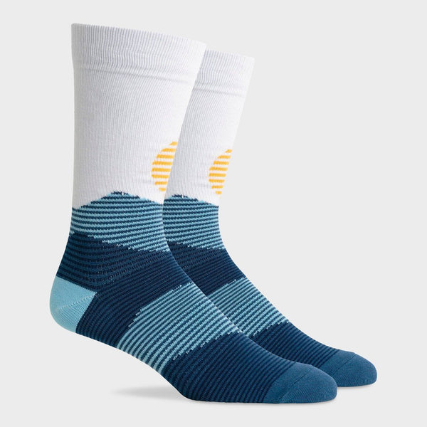 product: Richer Poorer Midweight Crew Sock Oakley Blue Multi