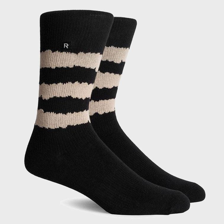 Richer Poorer Rambler Socks Black & Tan