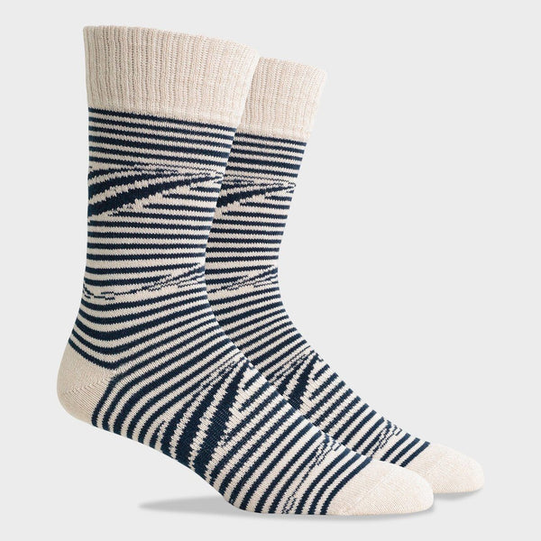 product: Richer Poorer Recover Sock Crush Navy White