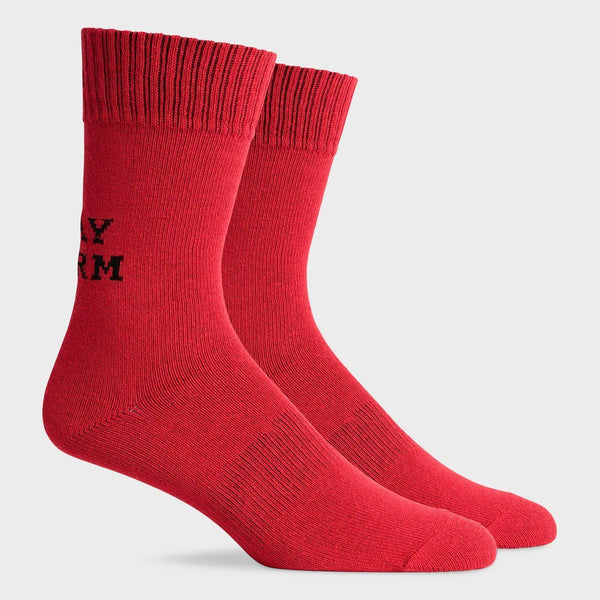 product: Richer Poorer Recover Sock Stay Warm Red