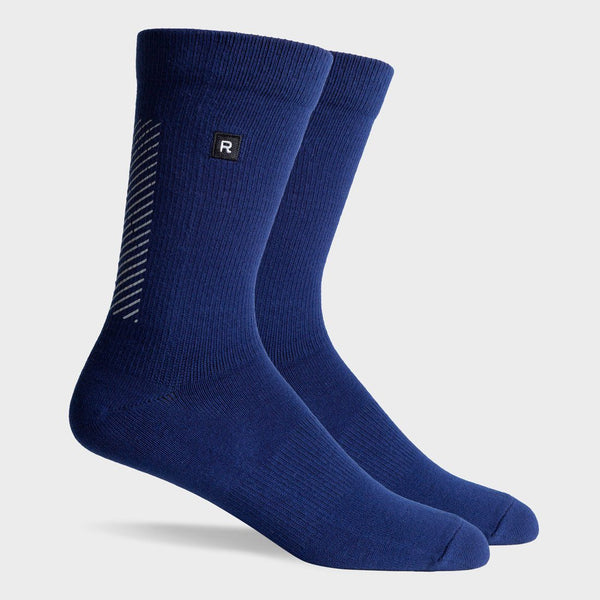 product: Richer Poorer Rider Reflective Sock Navy