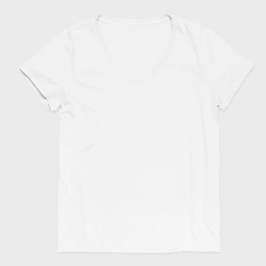 Richer Poorer Women's Scoop V T-Shirt White
