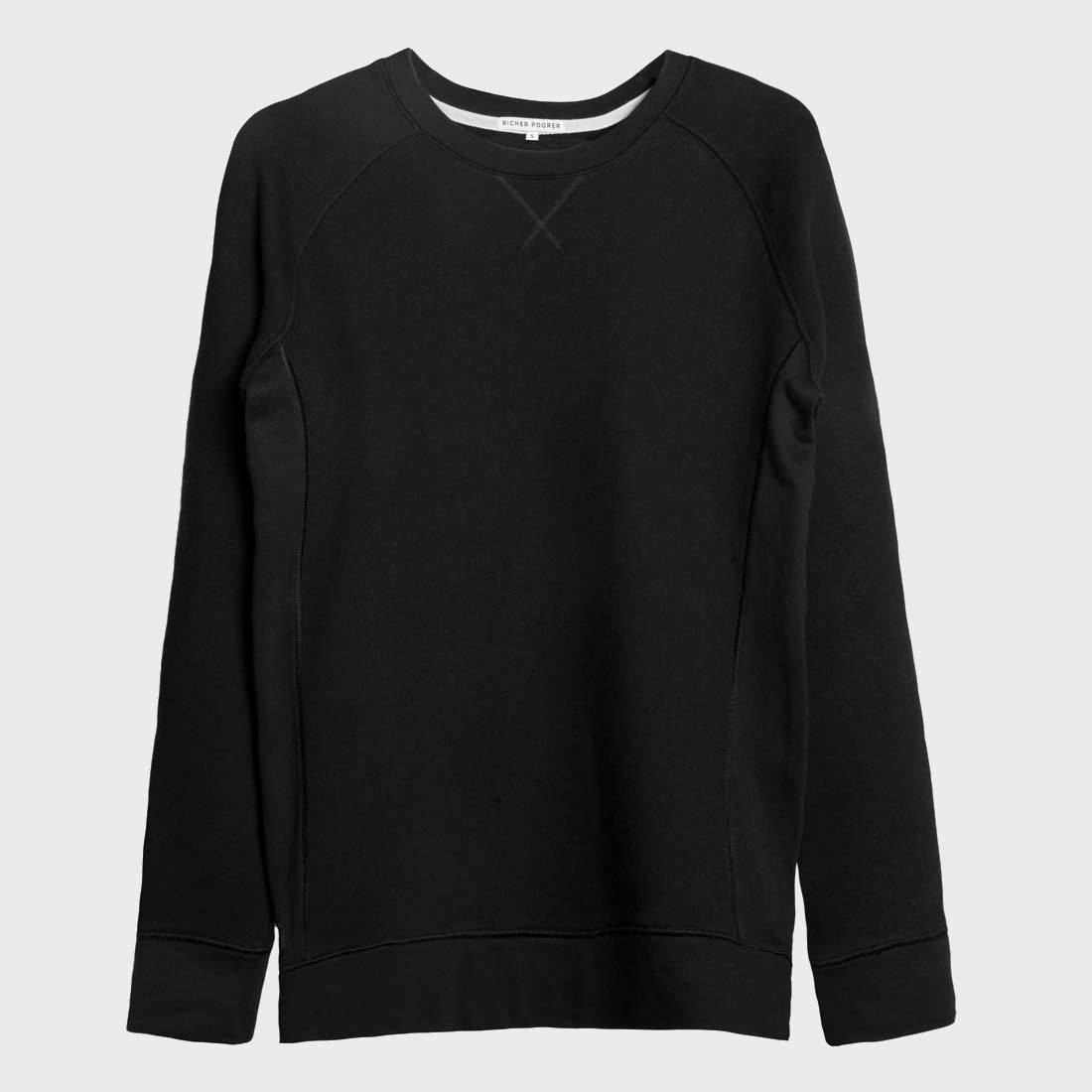 Richer Poorer Sweatshirt Black
