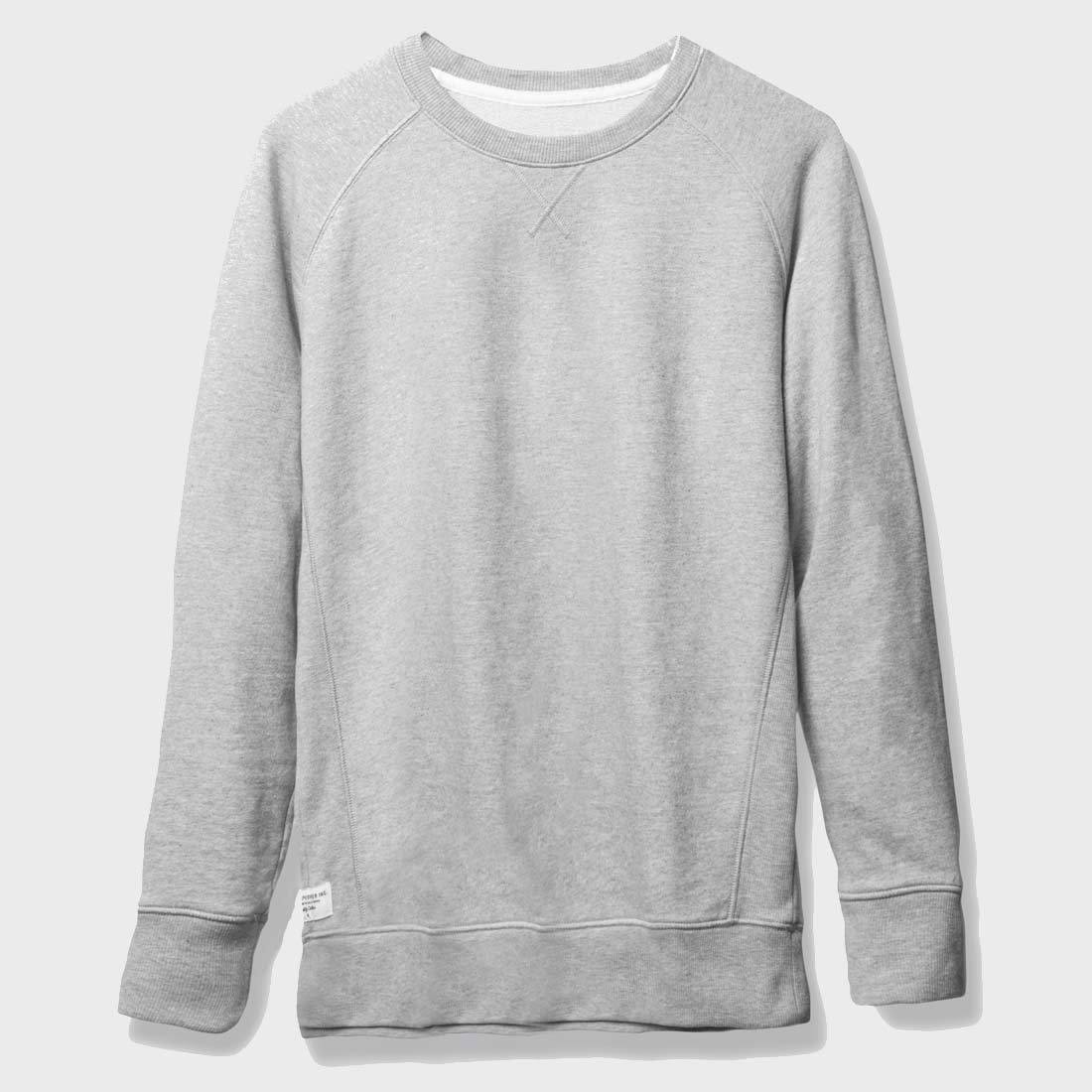 Richer Poorer Sweatshirt Heather Grey