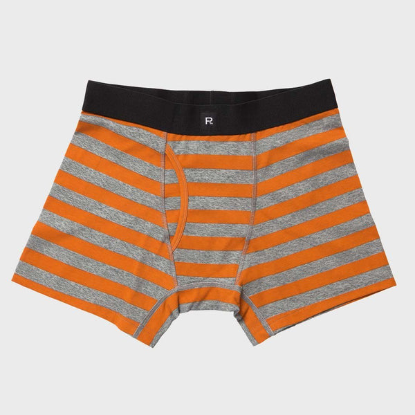 product: Richer Poorer Theo Casual Boxer Briefs Charcoal Brown