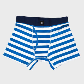 product: Richer Poorer Theo Casual Boxer Briefs Blue White