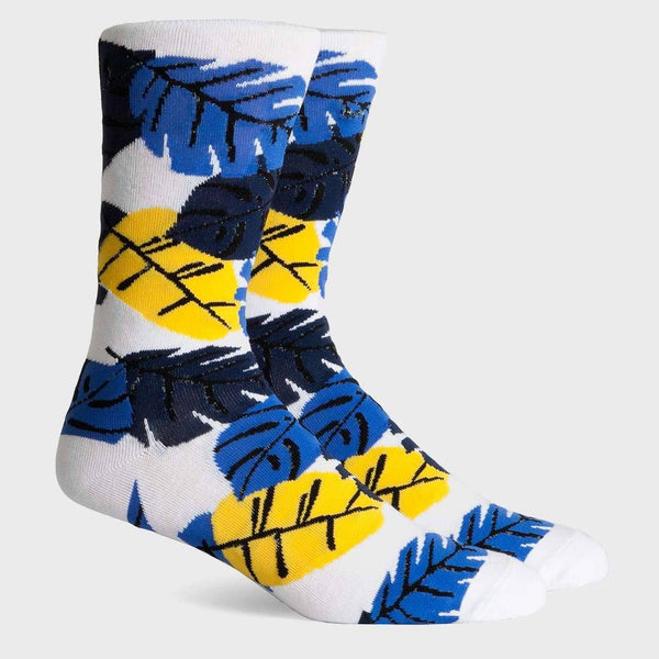 product: Richer Poorer Tropics Crew Sock White Socks