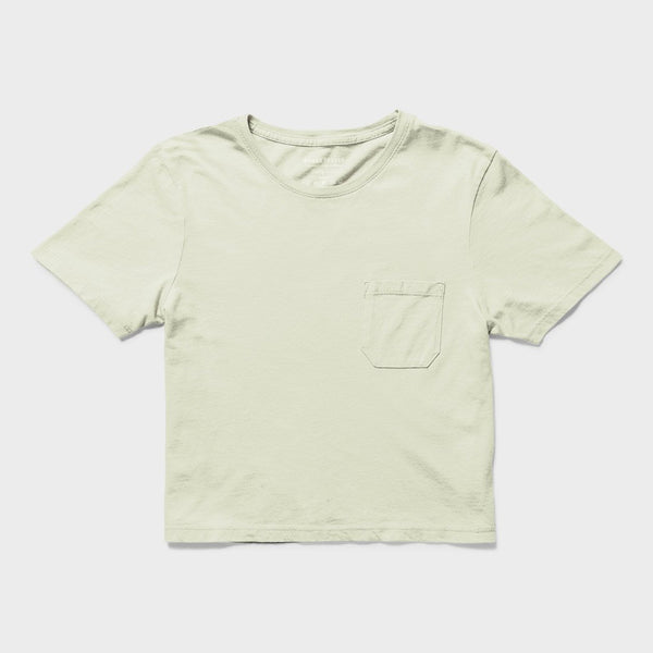 product: Richer Poorer Boxy Crop T-Shirt Seaglass