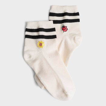 product: Richer Poorer Women's Charlie Sock Ivory