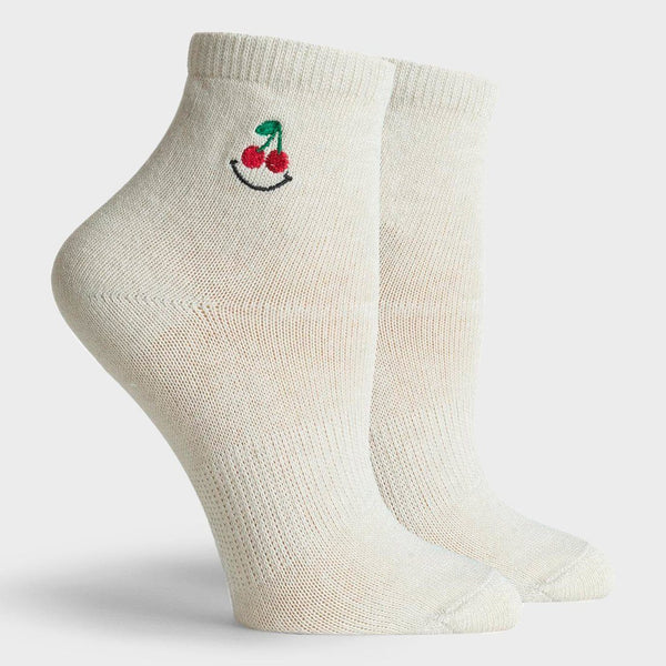 product: Richer Poorer Cheery Ankle Sock Natural