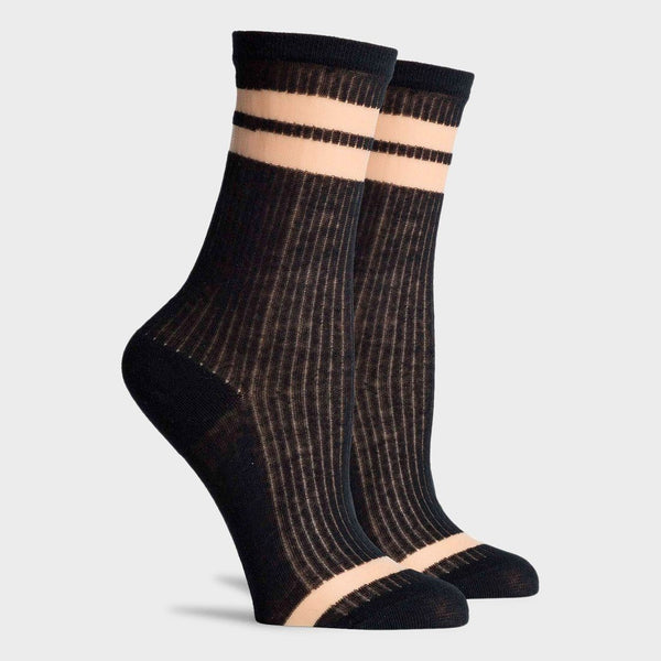 product: Richer Poorer Women's Cosmic Ankle Socks Black