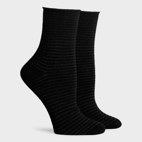 product: Richer Poorer Women's Hari Crew Socks Black/ Multi