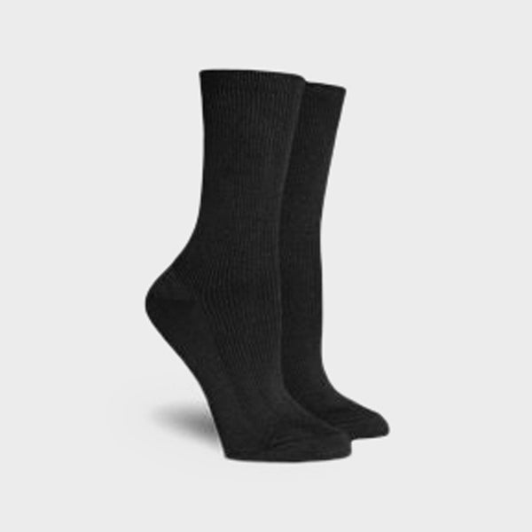 product: Richer Poorer Women's Nightingale Modal Crew Sock Charcoal