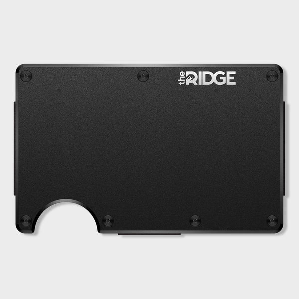 product: Ridge Aluminum Wallet Black