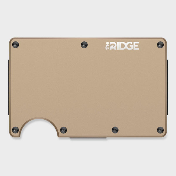 product: Ridge Aluminum Wallet Desert Tan