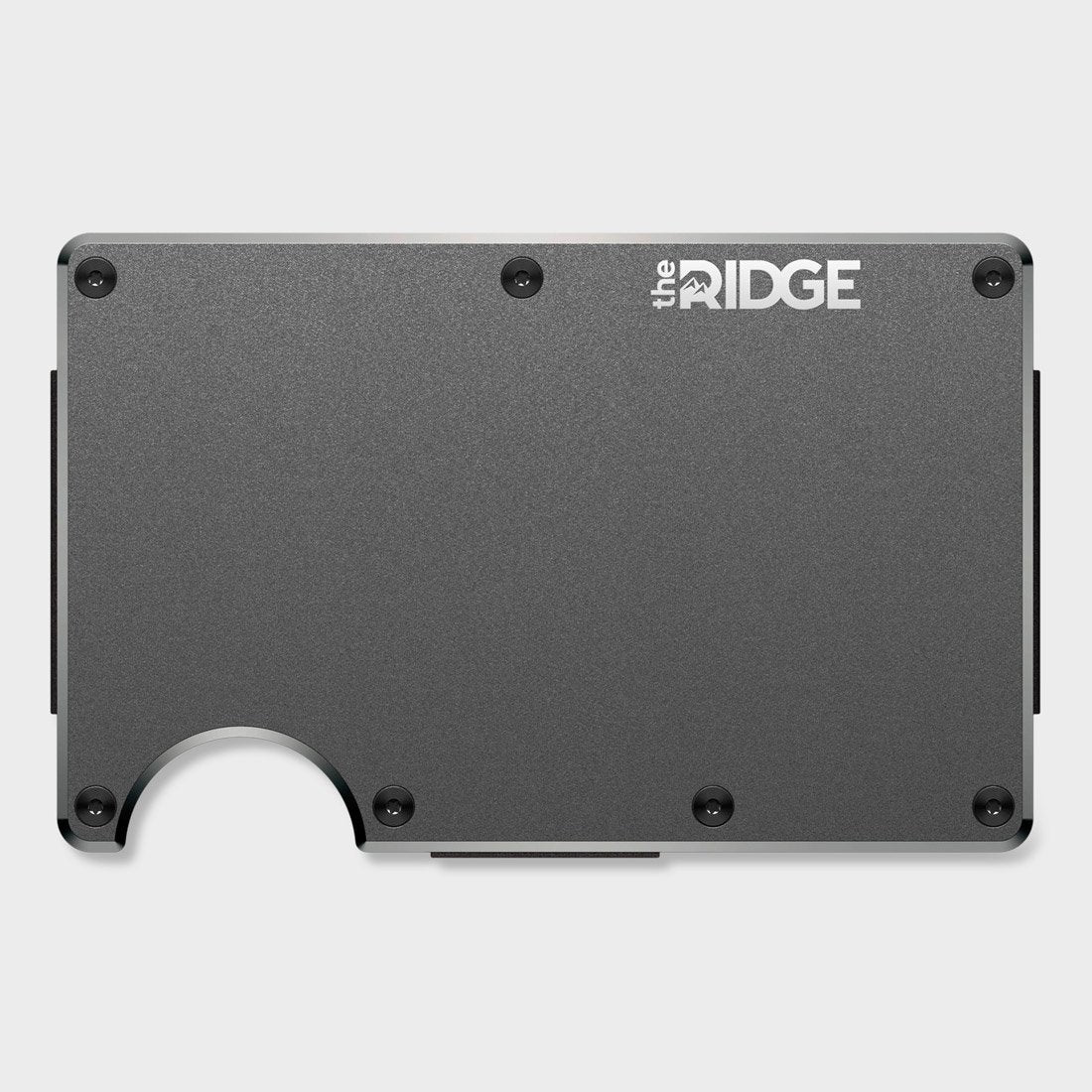 Ridge Aluminum Wallet Gunmetal
