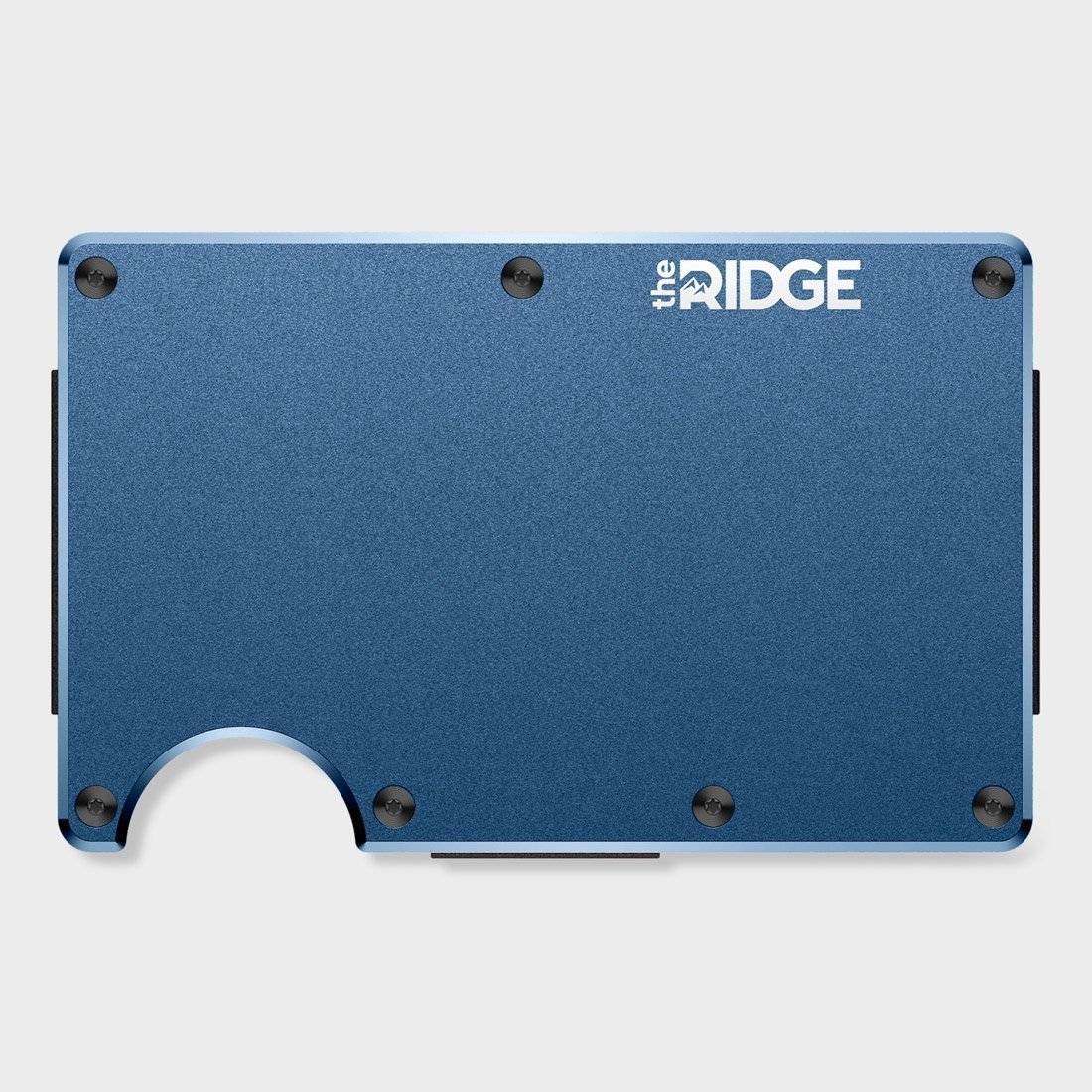 Ridge Aluminum Wallet Navy