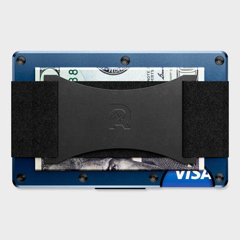 product: Ridge Aluminum Wallet Navy