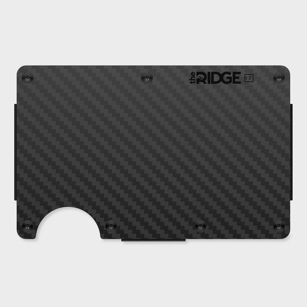 product: Ridge Carbon Fiber Wallet Black