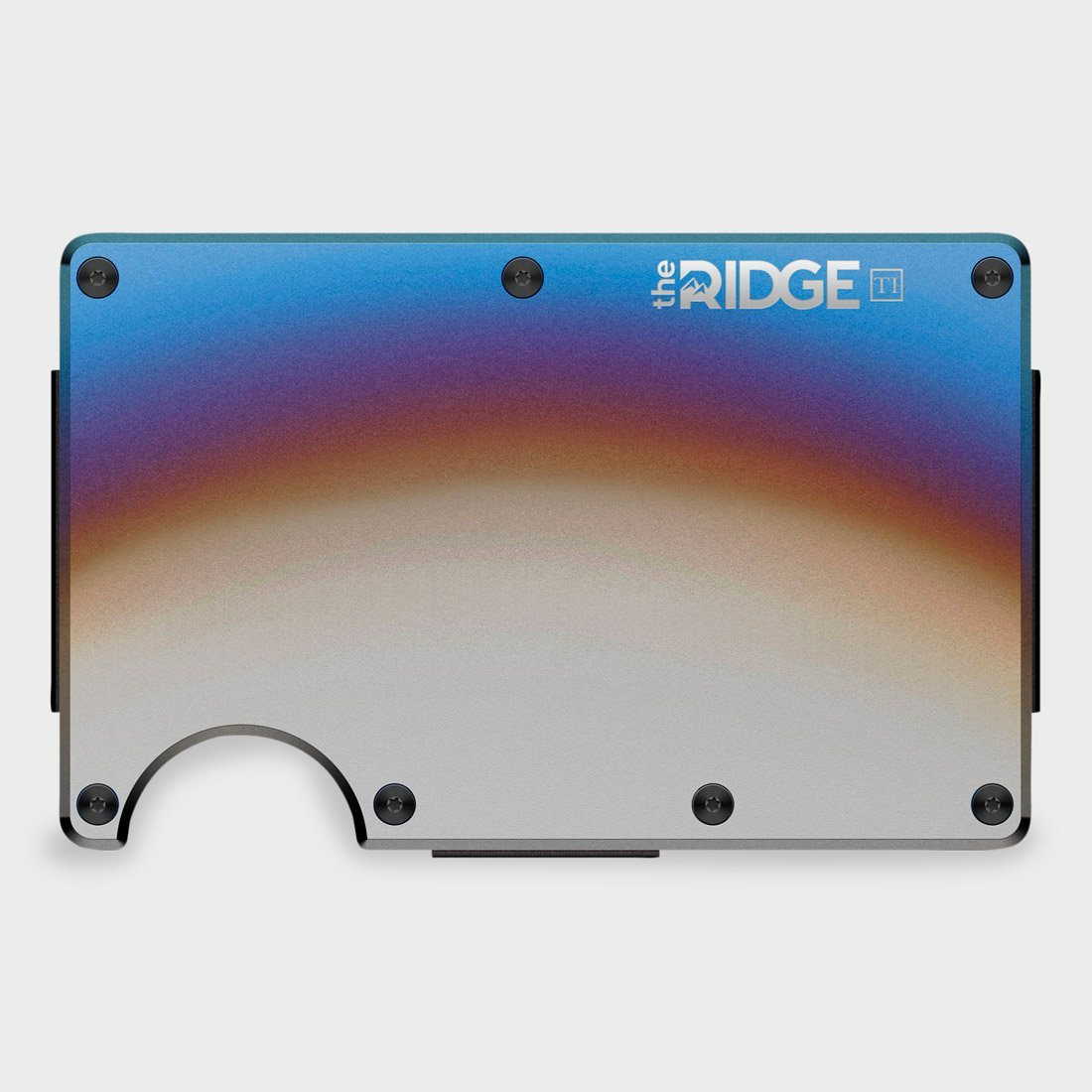 Ridge Titanium Wallet Burnt