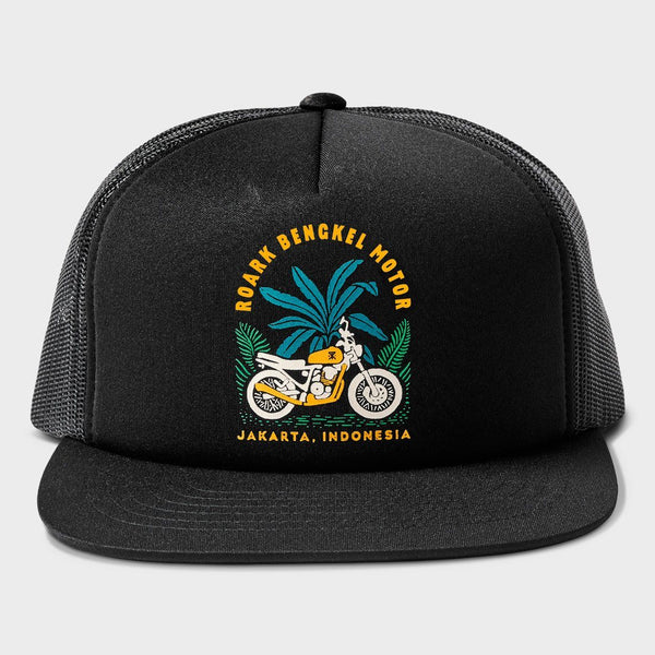 product: Roark Bengkel Motor Hat Black