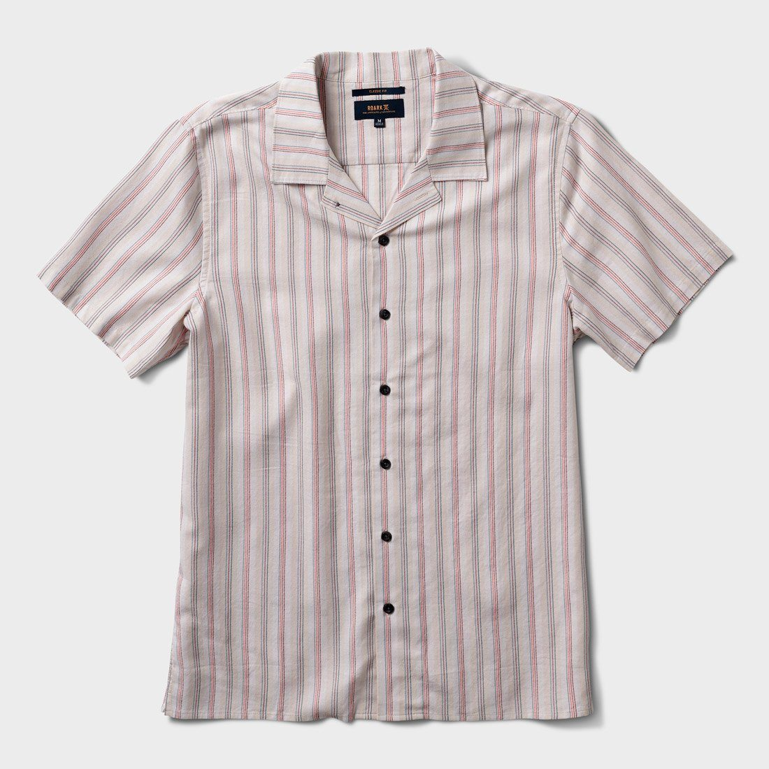 Roark Distilleryman Button Up Shirt White