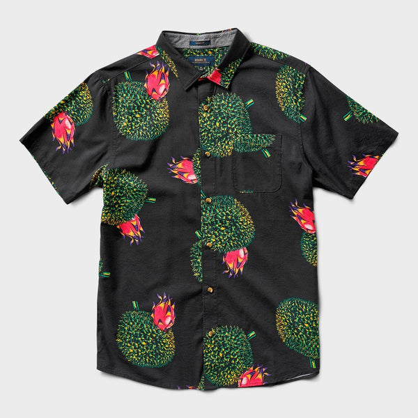 product: Roark Durian Woven Shirt Black