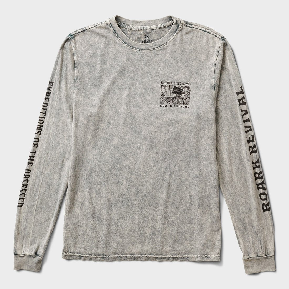 Roark Expeditions Of The Obsessed Shirt Grey