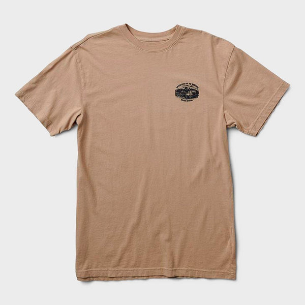 product: Roark Expeditions of the Obsessed T-Shirt Khaki