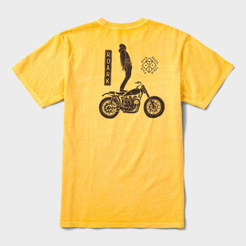 product: Roark Ghost Rider T-Shirt Gold