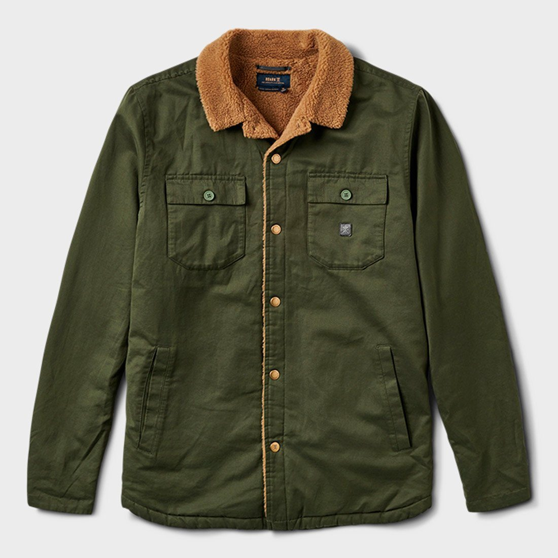 Roark Hebrides Jacket Military