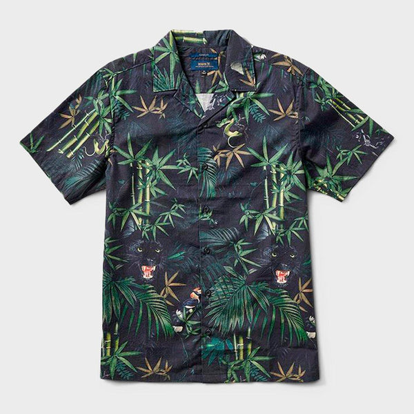 product: Roark Jungle Attack Shirt Black