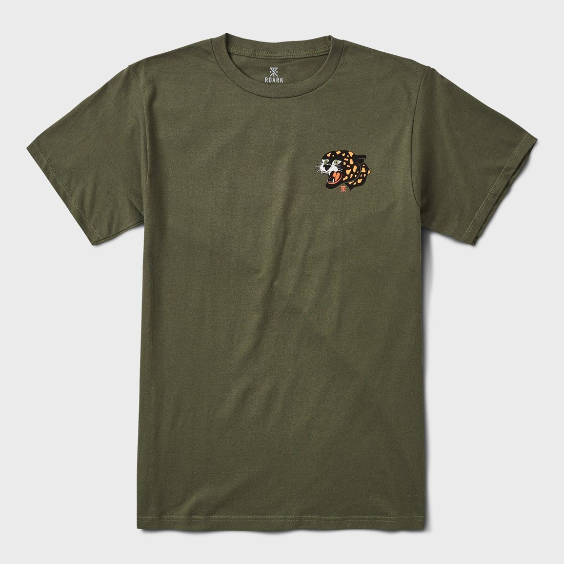Roark Kowloon Tiger T-Shirt Army