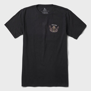 product: Roark Kung Fu Crab T-Shirt Black