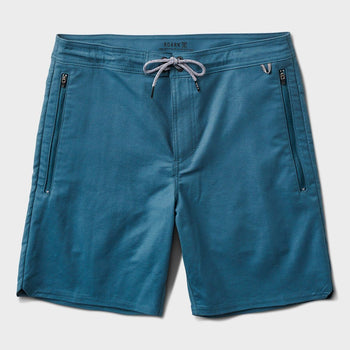 product: Roark Layover Travel Short Indigo