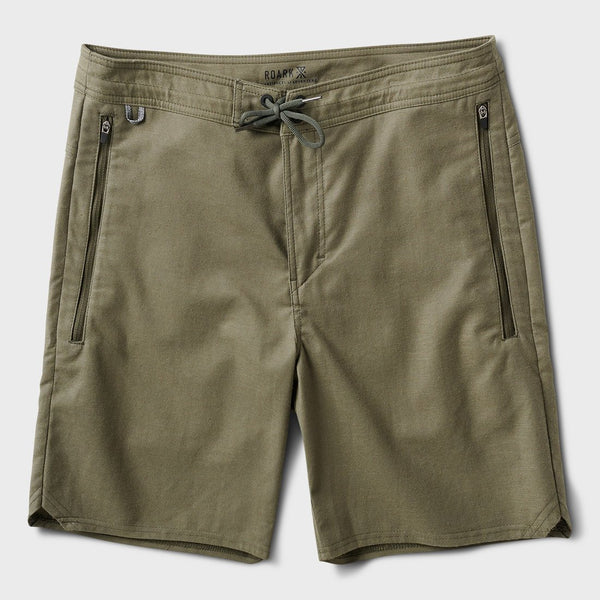product: Roark Layover Travel Short Army
