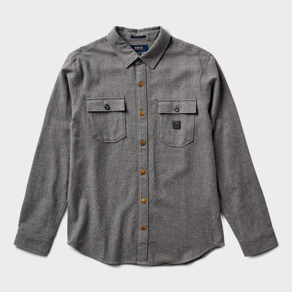 product: Roark Lightweight Nordsman Flannel Charcoal