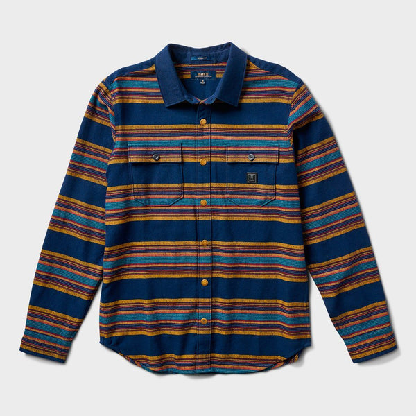 product: Roark Lightweight Nordsman Flannel Navy