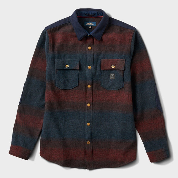 product: Roark The Nordsman Flannel Burgundy