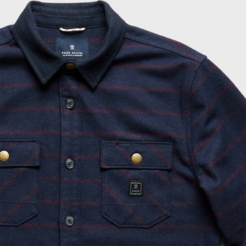 product: Roark Nordsman Flannel Navy