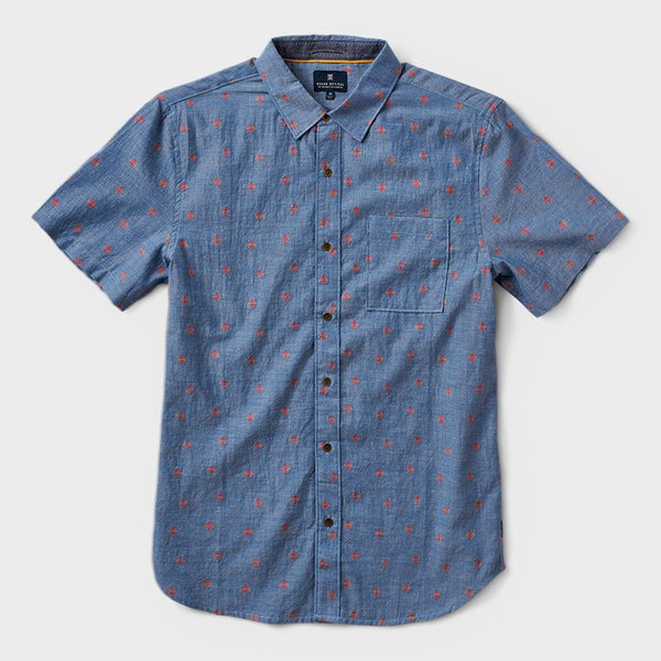 product: Roark Poya S/S Shirt Blue