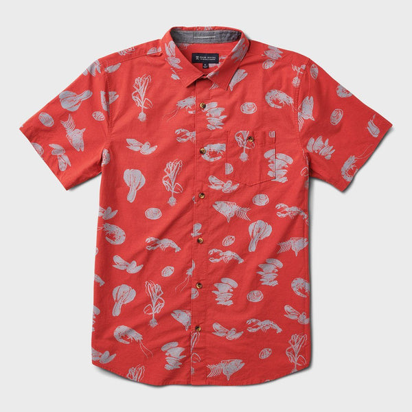 product: Roark Seafood Stew Shirt Red