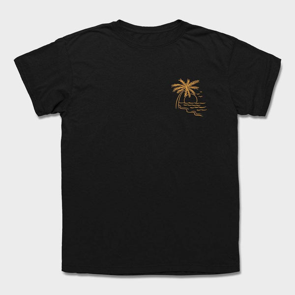 product: Roark Star Crossed T-Shirt Black